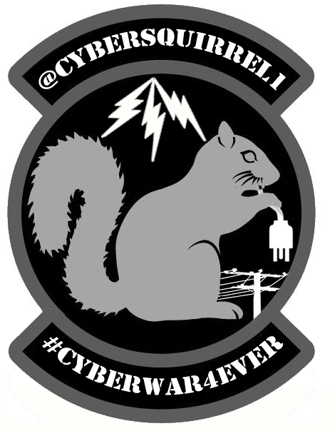 CyberSquirrel1 Sticker